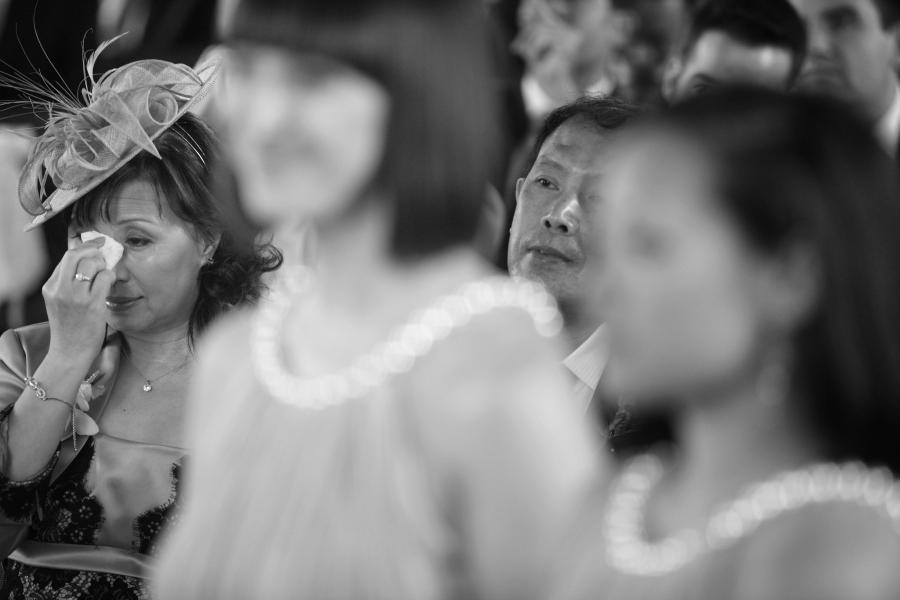 crying at wedding, mother of the bride, tears