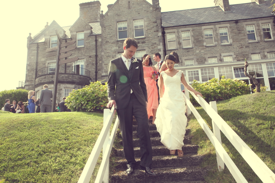 couple at parknasilla, kerry weddings