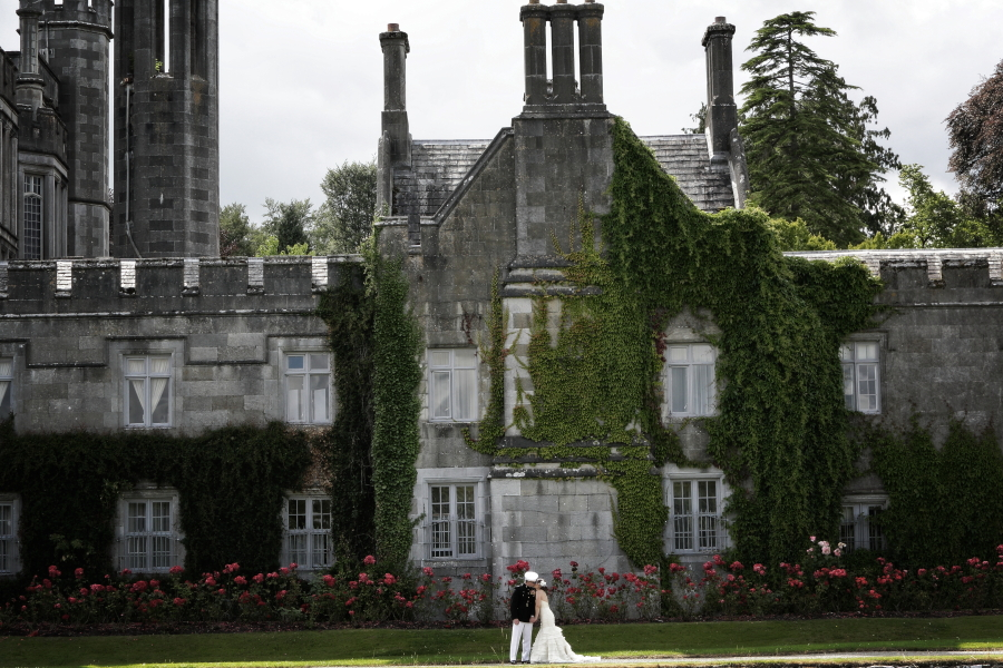 couple at adare manor