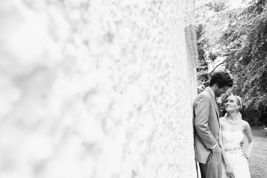 Adorable Couple Wed At Intimate Castle In Ireland
