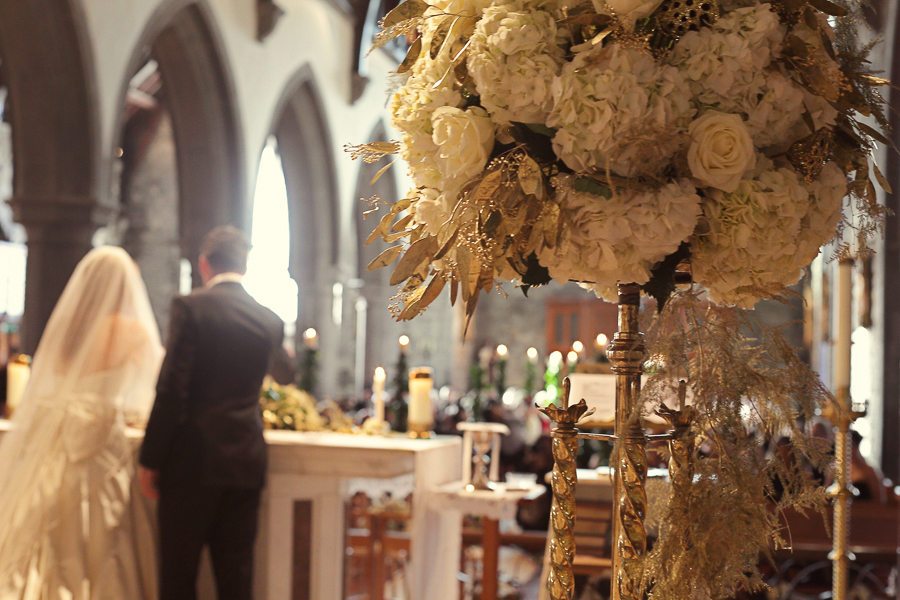 A Christmas Wedding At The Luxurious Adare Manor