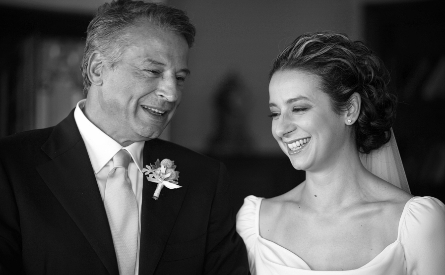 Beautiful Father & Daughter Wedding Moments