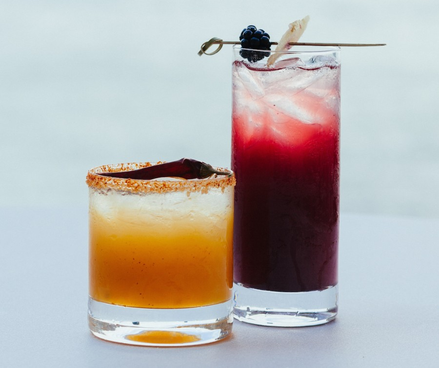 His & hers signature cocktails
