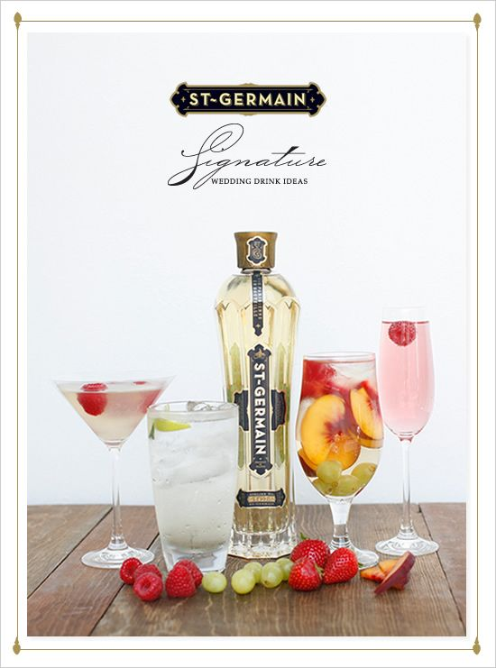 St Germain cocktails