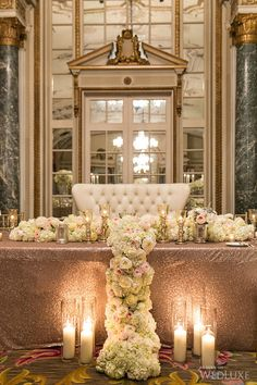 Table x 2 luxury with lush florals
