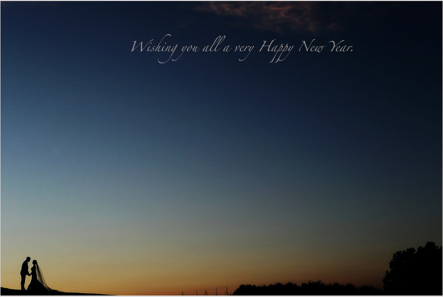 Happy new year from Ireland's leading wedding consultants