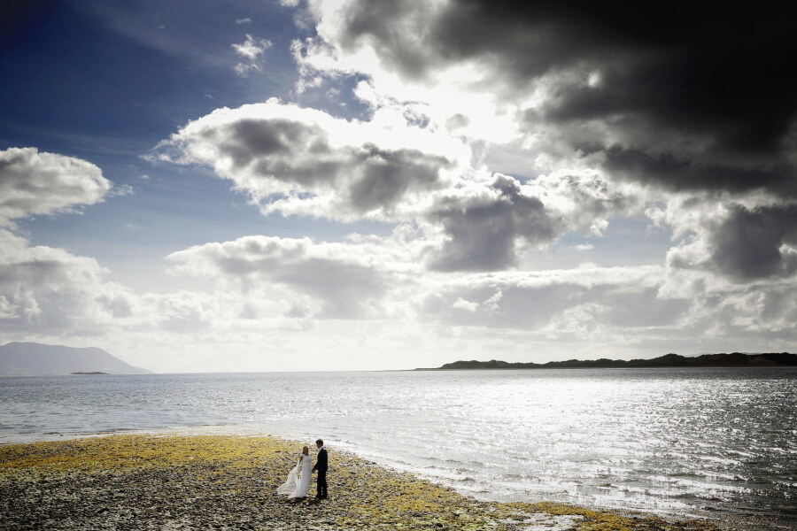 Coastal Wedding In Ireland