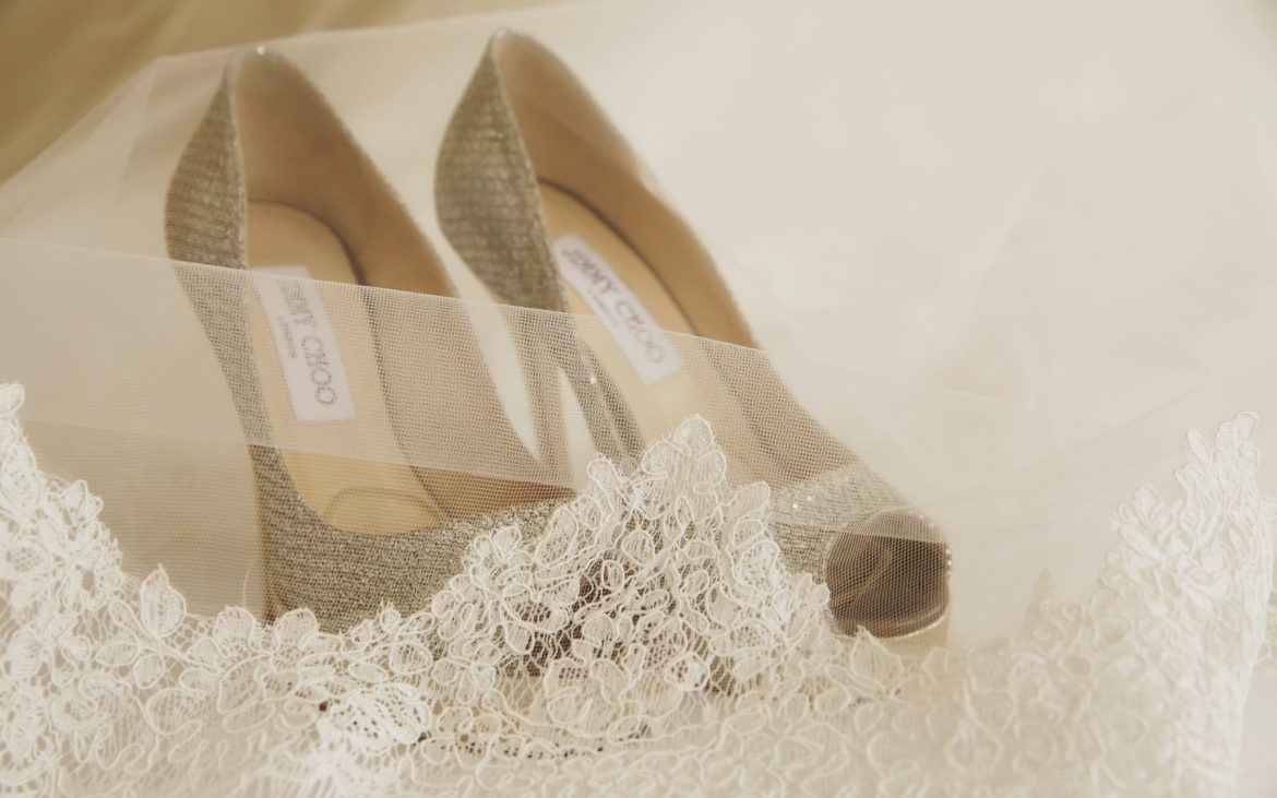 Your Perfect Wedding Day Shoes, Hidden From Sight!