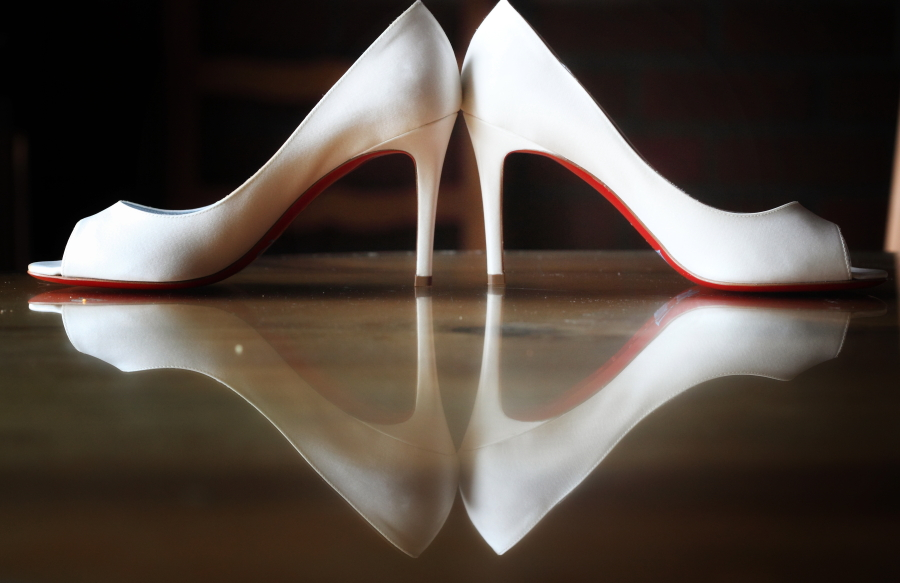 Your Perfect Wedding Shoes, Hidden From Sight!