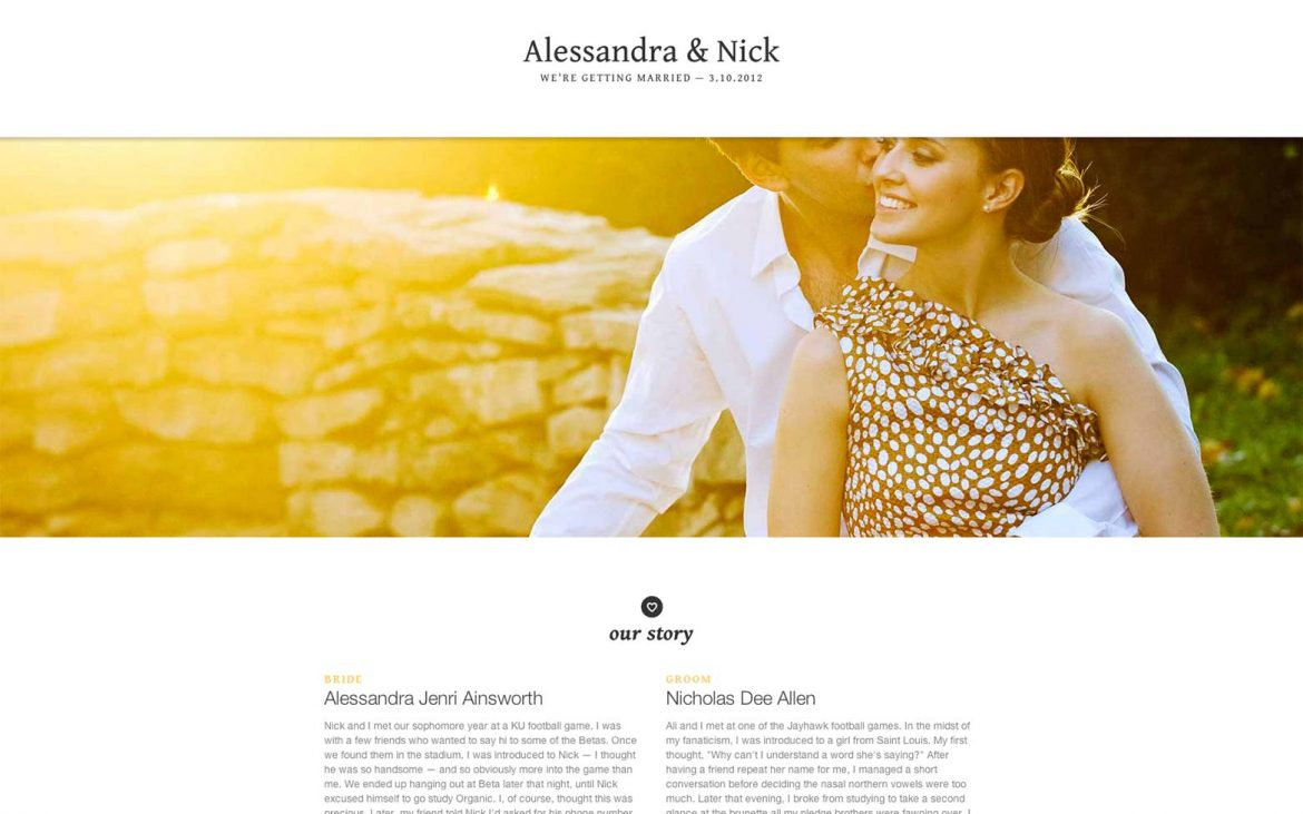 Our Top Tips on what to include on your Destination Wedding Website