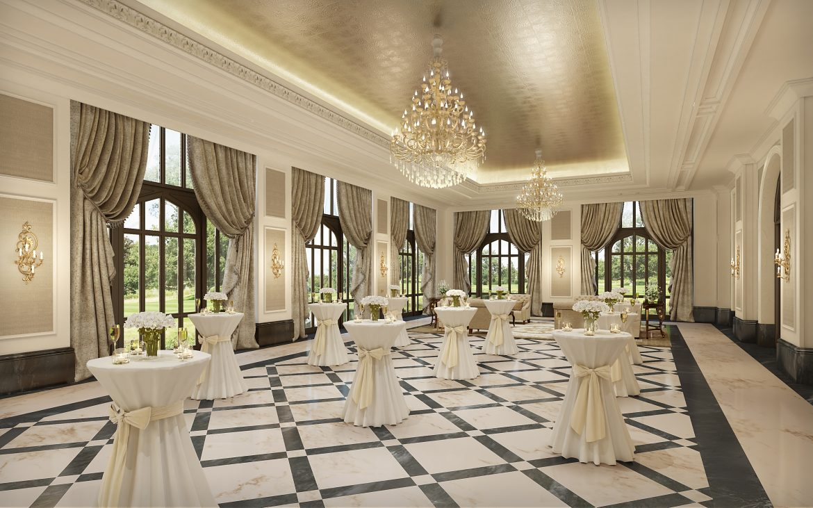 A-dare To Dance In The Manor's New Ballroom