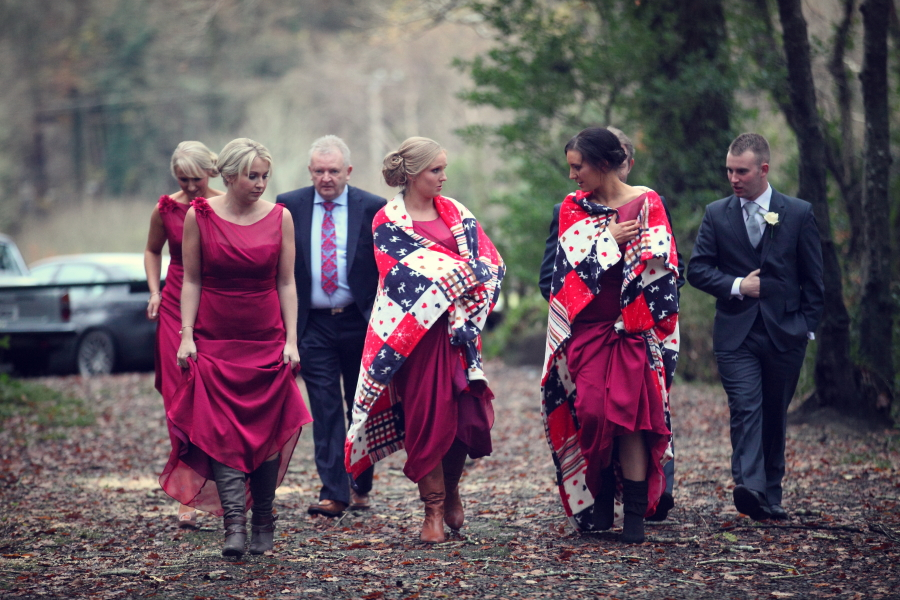 Introducing Rich Colour To Your Winter Wedding