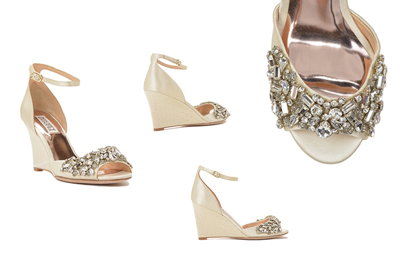 Perfect Wedding Shoes From Designer Badgley Mischka