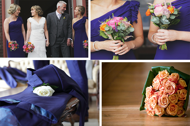 Popular Spring Wedding Colours- Beautiful Blush and Blue!