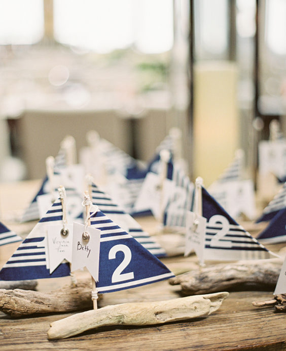 Nautical Wedding Boat Seating Plan
