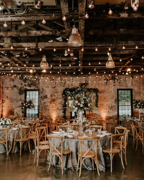Barn Celestial Wedding
