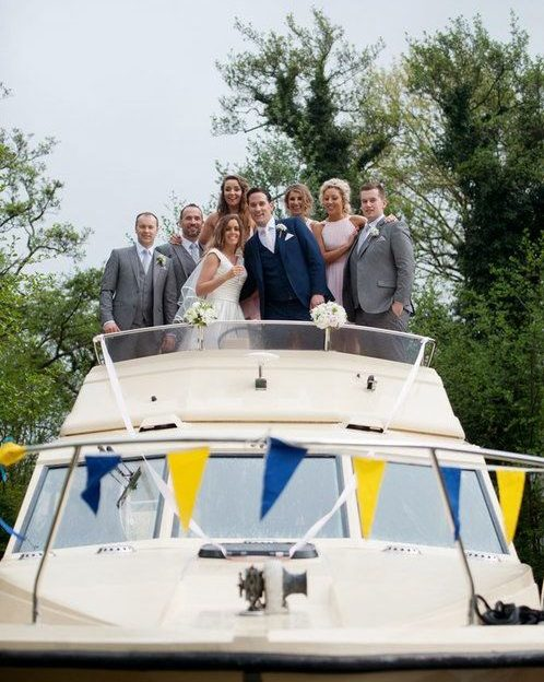 Nautical Wedding on a Boat in Ireland