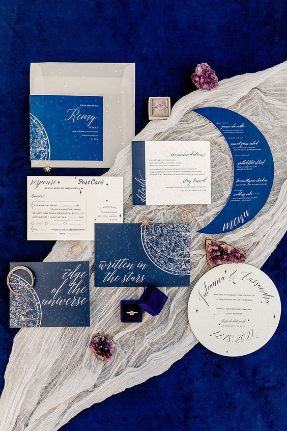 Celestial Wedding Stationery