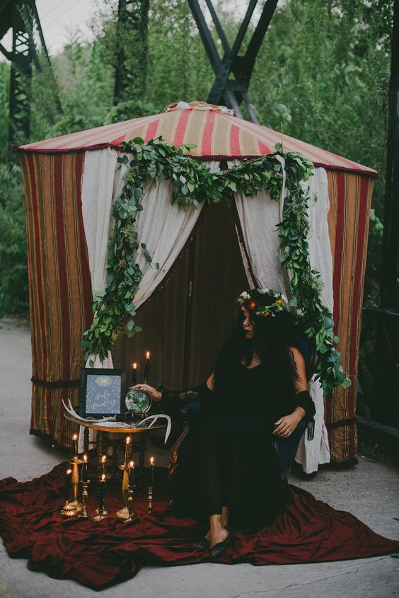Tarot Card Reader at Wedding